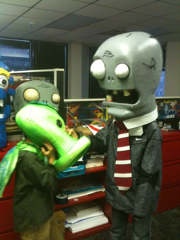 Fun at PopCap Headquarters!